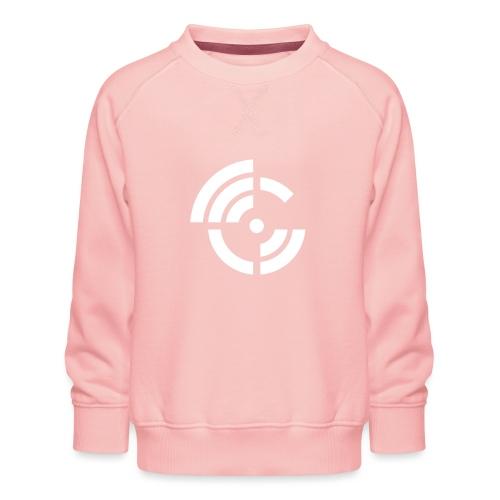 electroradio.fm logo - Kids' Premium Sweatshirt