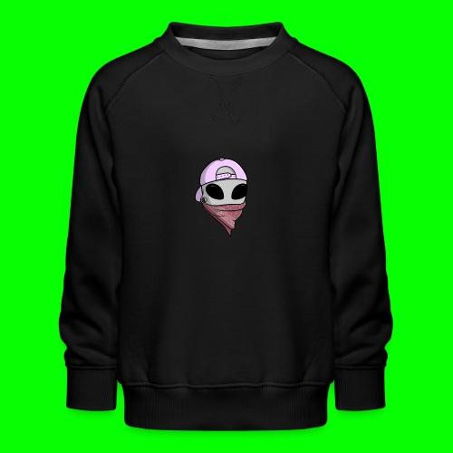 gangsta alien logo - Felpa premium da bambini