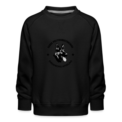 Svendborg ph sort - Børne premium sweatshirt