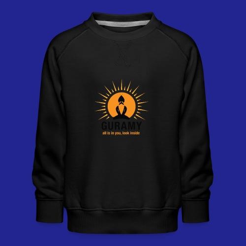 final nero con scritta - Kids' Premium Sweatshirt