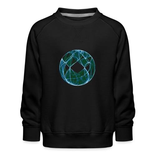 Harmonie im Ozean der Elemente 446oce - Kinder Premium Pullover