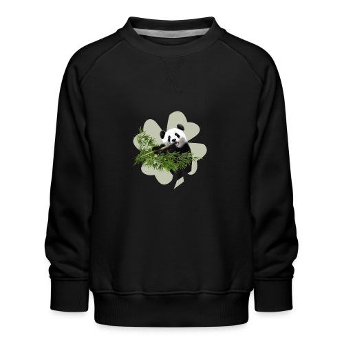 My lucky Panda - Sweat ras-du-cou Premium Enfant