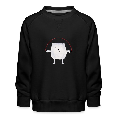 Jumping Monsta by #OneCreativeArts - Kinder Premium Pullover