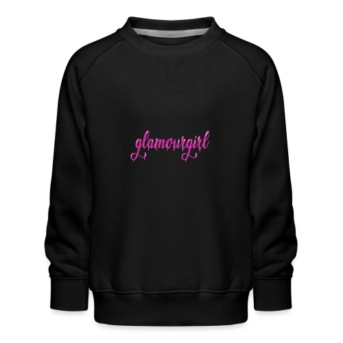 Glamourgirl dripping letters - Kinderen premium sweater