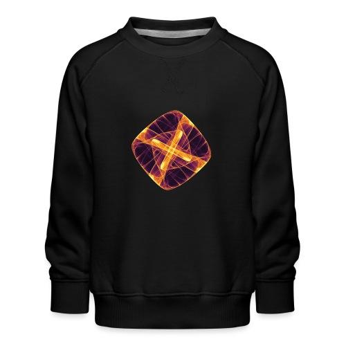 Chakra Mandala Mantra OM Chaos Stern Kreis 12255i - Kinder Premium Pullover