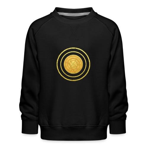 Glückssymbol Sonne - positive Schwingung - Spirale - Kinder Premium Pullover