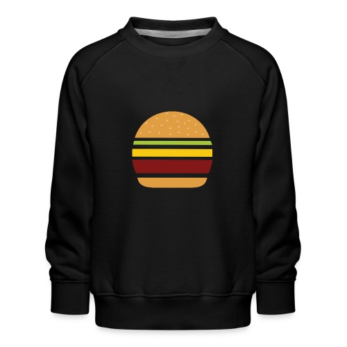 Logo Burger Panhamburger - Sweat ras-du-cou Premium Enfant