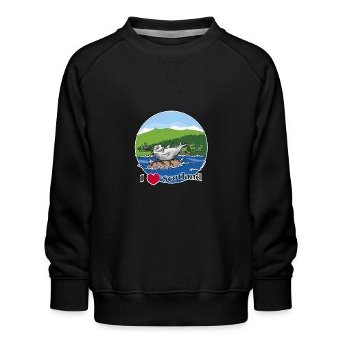 I heart Scotland - Sutherland & Caithness - Kids' Premium Sweatshirt