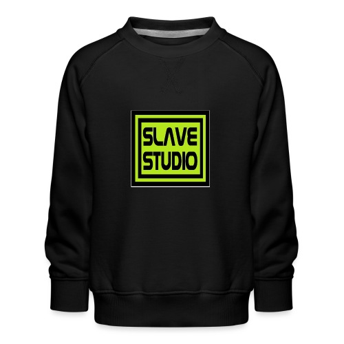 Slave Studio logo - Felpa premium da bambini