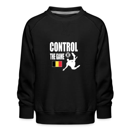 Control The Game Belgium - Kinderen premium sweater