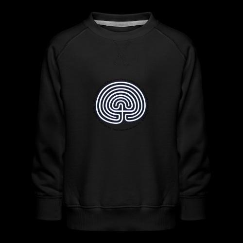 Labyrinth exi - Kinder Premium Pullover