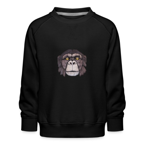chimpanzé - Sweat ras-du-cou Premium Enfant