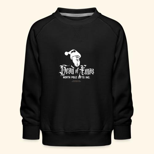 Weihnachten T-Shirt lustiger Spruch Head of Xmas - Kinder Premium Pullover