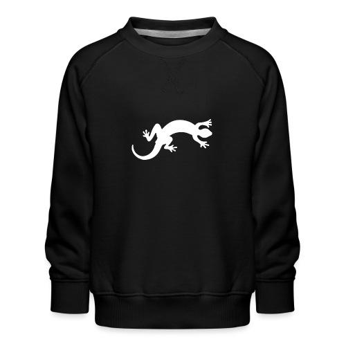 Gecko white - Kinder Premium Pullover