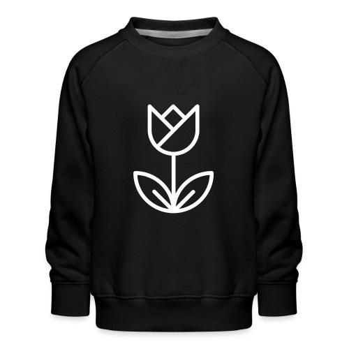 Tulip white png - Kids' Premium Sweatshirt