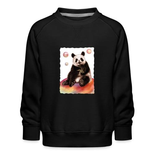 Panda World - Felpa premium da bambini