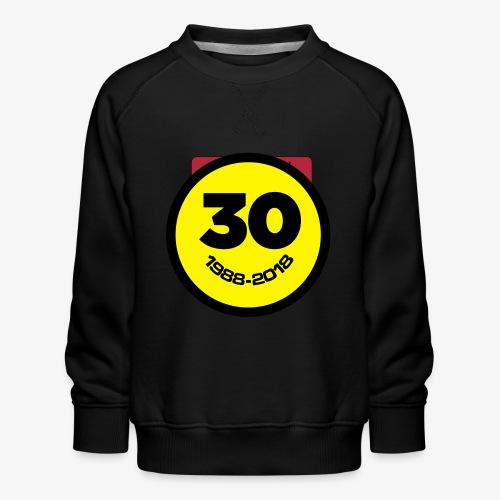 30 Jaar Belgian New Beat Smiley - Kinderen premium sweater