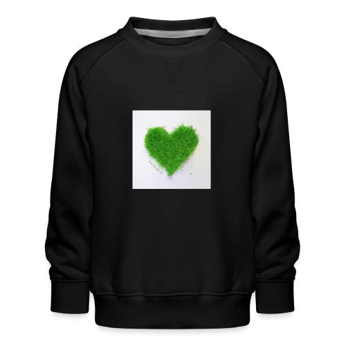 Herzrasen Button - Kinder Premium Pullover