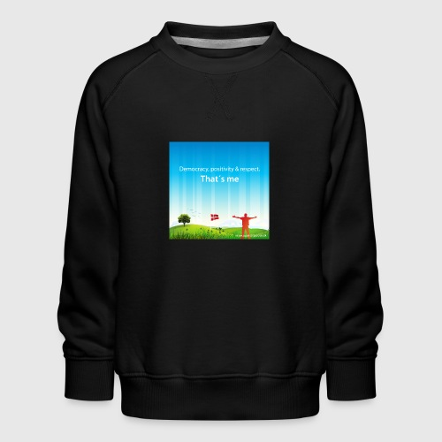 Rolling hills tshirt - Børne premium sweatshirt