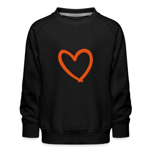 Heart Lines Pixellamb - Kinder Premium Pullover