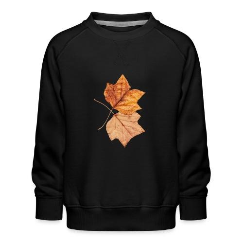 Blätter - Kinder Premium Pullover