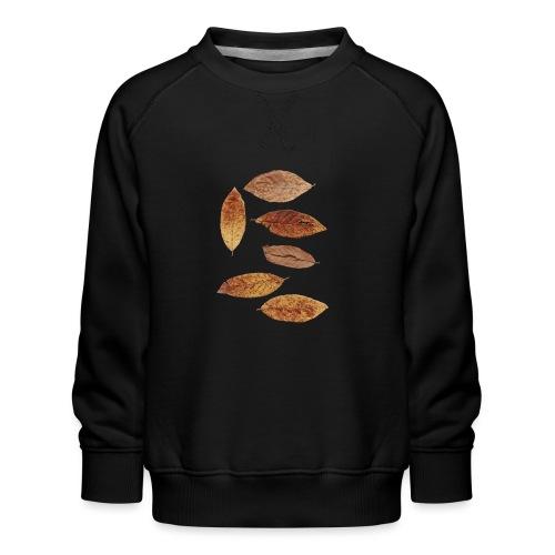 Bunte Blätter - Kinder Premium Pullover