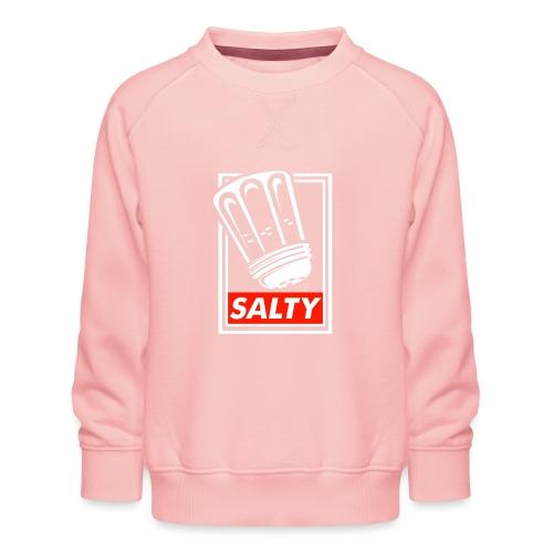 Salty white - Kids' Premium Sweatshirt