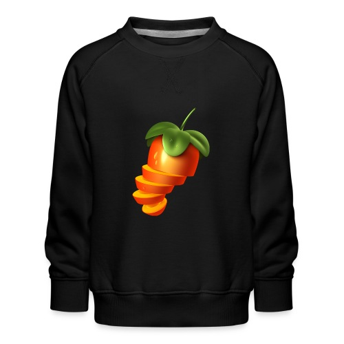 Sliced Sweaty Fruit - Kids' Premium Sweatshirt