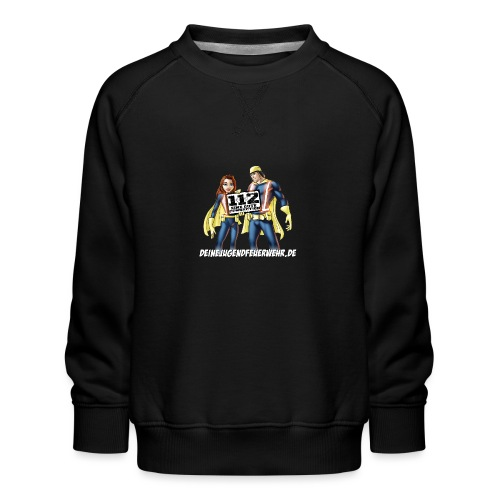 Superhelden & Logo - Kinder Premium Pullover