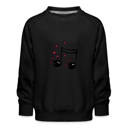 Love tunes - Kinder Premium Pullover