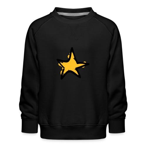 Star Line Drawing Pixellamb - Kinder Premium Pullover