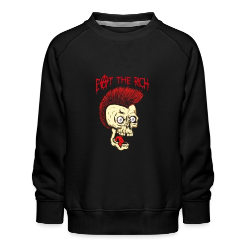 Eat The Rich (For Dark Shirts) - Kinder Premium Pullover