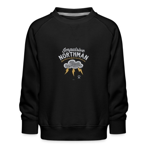 Impulsive Northman - Børne premium sweatshirt
