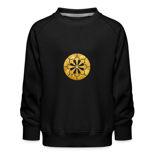 Sanja Matsuri Komagata mon gold - Kids' Premium Sweatshirt