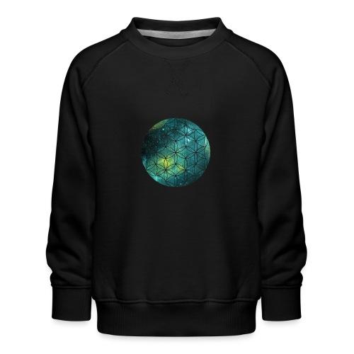 FlowerOfLife Cool - Kinderen premium sweater