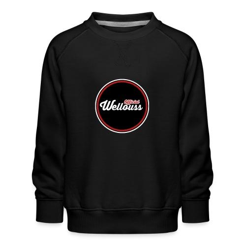 Wellouss Fan T-shirt | Rood - Kinderen premium sweater