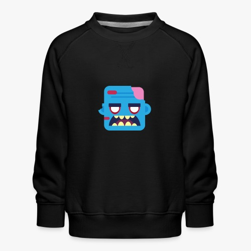 Mini Monsters - Zombob - Børne premium sweatshirt