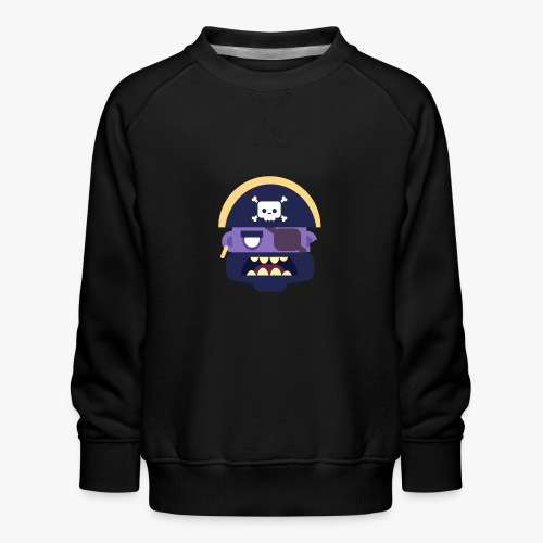 Mini Monsters - Captain Zed - Børne premium sweatshirt