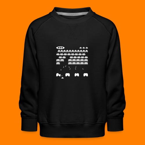 space invaders - Kids' Premium Sweatshirt