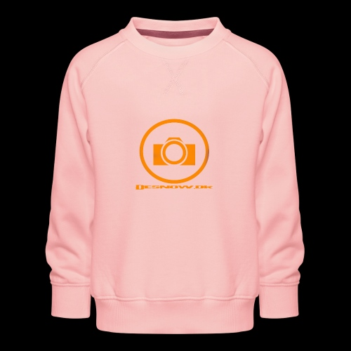 Orange 2 png - Børne premium sweatshirt