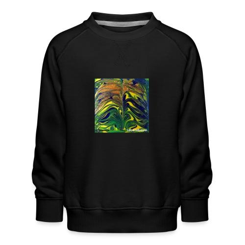 TIAN GREEN Mosaik DE029 - Lebensbaum - Kinder Premium Pullover