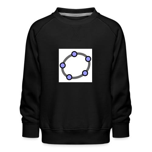 GeoGebra Ellipse - Kids' Premium Sweatshirt