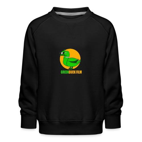 Greenduck Film Golden Sun Logo - Børne premium sweatshirt