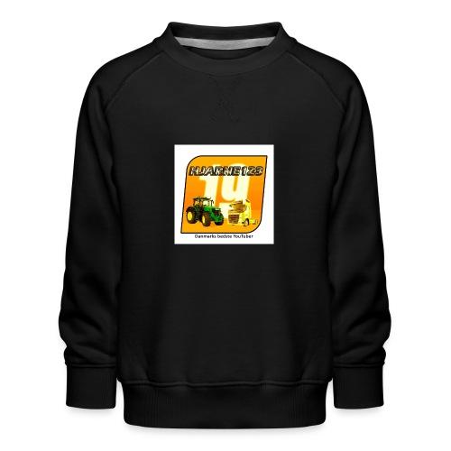 hjarne 123 danmarks bedeste youtuber - Børne premium sweatshirt