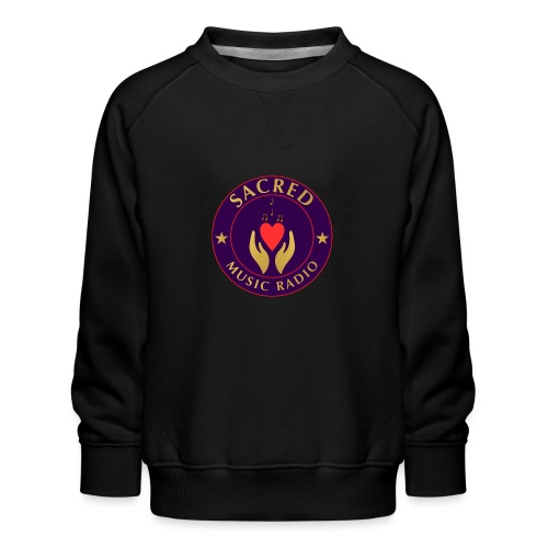 Spread Peace Through Music - Kids' Premium Sweatshirt
