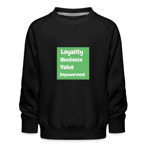 loyality - Premiumtröja barn