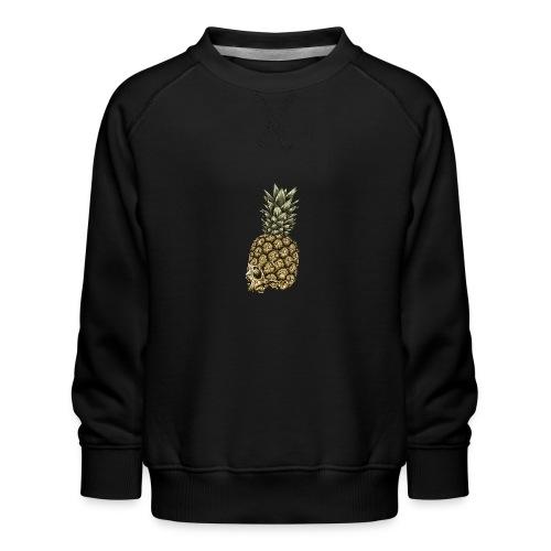 Skull kranium død - Ananas - Børne premium sweatshirt