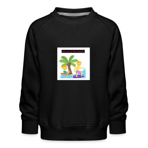 beach - Premiumtröja barn