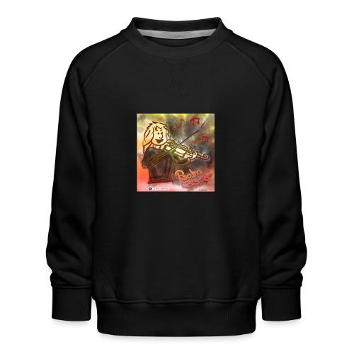 Design Geige Psalm 33 Vers 3 - auf Kleidung - Kinder Premium Pullover