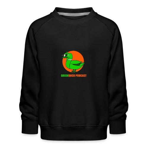 Greenduck Podcast Logo - Børne premium sweatshirt